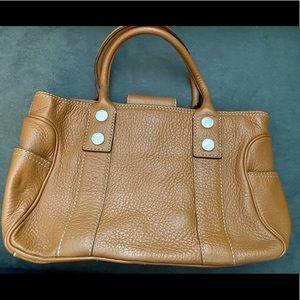 Michael Kors Camel tan satchel purse - excellent